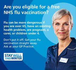 Flu clinics at Brownlow Health